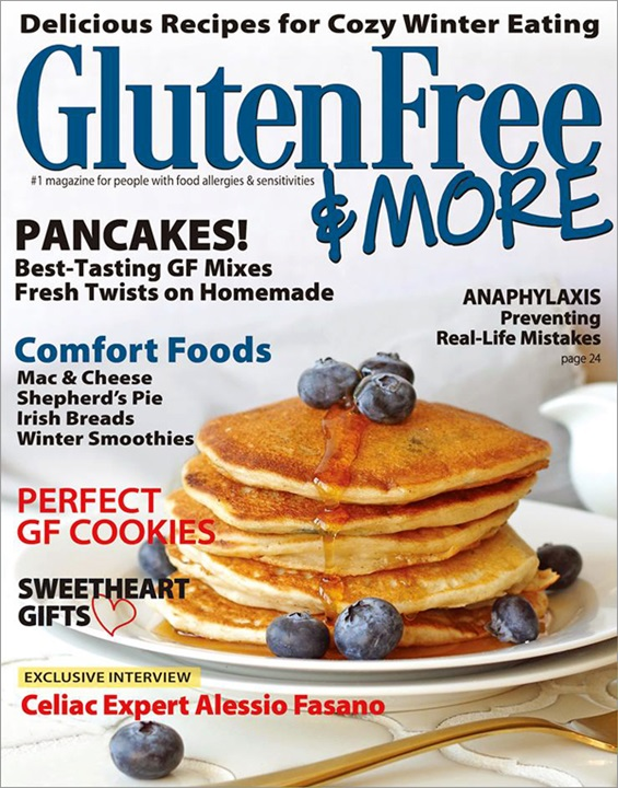 List of gluten free magazines the leading magazine and website for people living with food allergies gluten free more features delicious recipes forumfinder Image collections